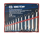 12 PC. straight offset box end wrench set | KING TONY | 1C12MR