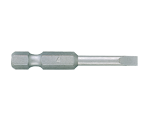 "1/4"" Power Bit (SLOTTED head) 