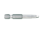 "1/4"" Power Bit (SQUARE head)-70mmL 