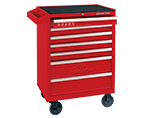 7 Drawers Risk-Free Tool Trolley | KING TONY | 87434-7G