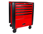 5 Drawers Classic Bumper type Tool Trolley | KING TONY | 87632-5B