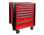 7 Drawers Classic Bumper type Tool Trolley | KING TONY | 87634-7B