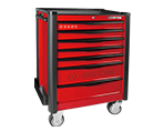7 Drawers Risk-Free Bumper Type Tool Trolley | KING TONY | 87934-7BF