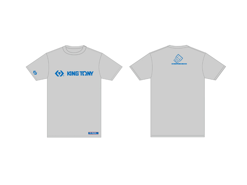 T-shirt(Gray) | KING TONY | ZS142G