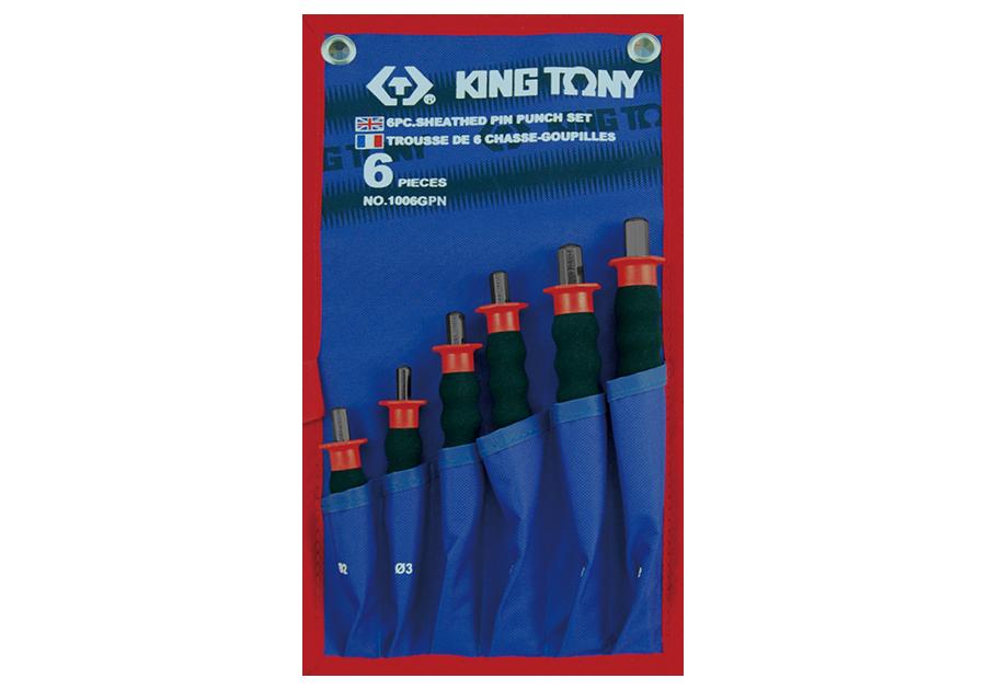 6件式 護把式圓柱鑿子工具組  KING TONY  1006GPN, 永安實業工具購物網