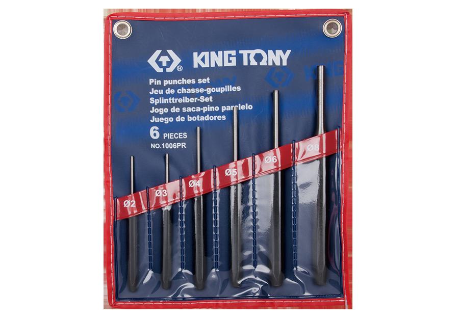 6件式 圓柱鑿子組  KING TONY  1006PR, 永安實業工具購物網
