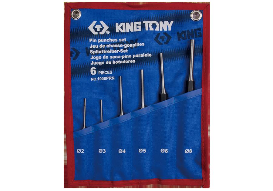 6件式 圓柱鑿子組  KING TONY  1006PRN, 永安實業工具購物網