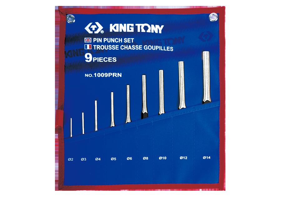 9件式 圓柱鑿子組  KING TONY  1009PRN, 永安實業工具購物網
