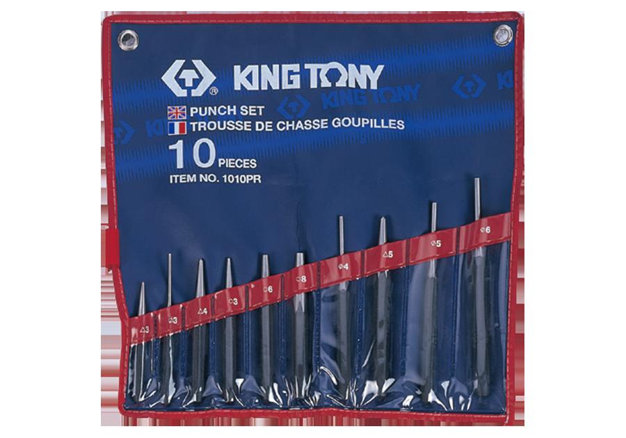 10件式 鑿子組  KING TONY  1010PR, 永安實業工具購物網