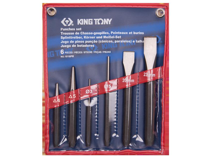 6件式 鑿子組  KING TONY  1016PR, 永安實業工具購物網