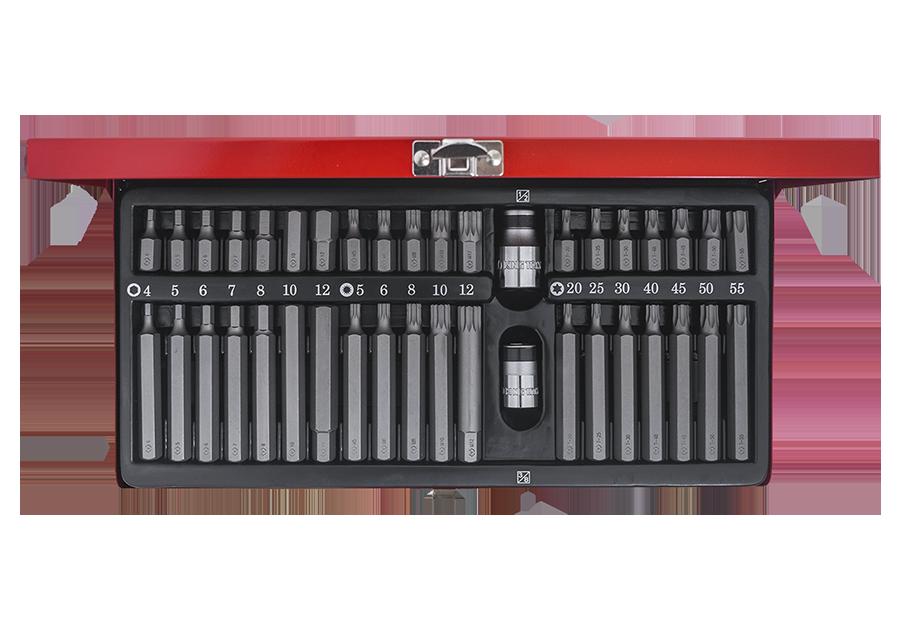 40件式 起子頭組套  KING TONY  1040CQ, 永安實業工具購物網