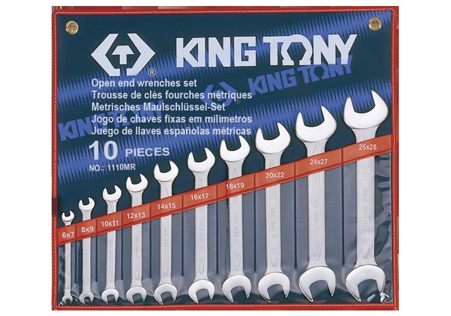 10件式 雙開扳手組 | KING TONY | 1110MR
