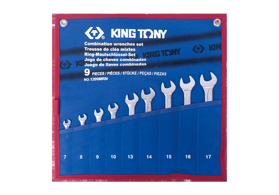 9件式 複合扳手組 | KING TONY | 1209MRN