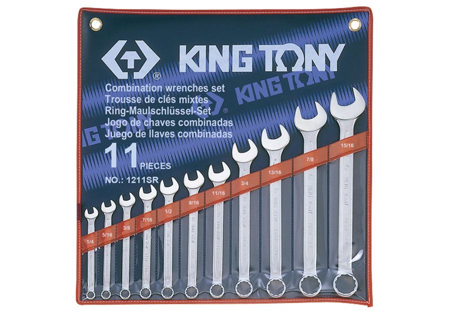 11件式 複合扳手組 | KING TONY | 1211SR
