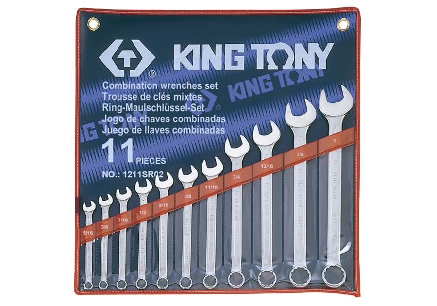 11件式 複合扳手組 | KING TONY | 1211SR02