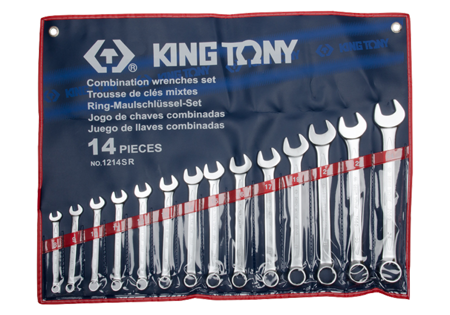 14件式 複合扳手組 | KING TONY | 1214SR