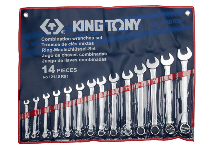 14件式 複合扳手組 | KING TONY | 1214SR01