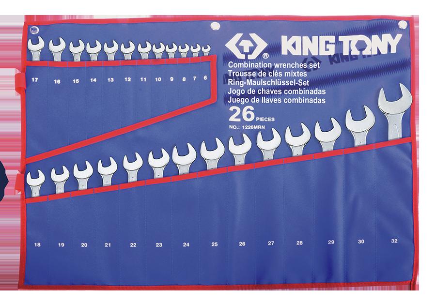 26件式 複合扳手組 | KING TONY | 1226MRN