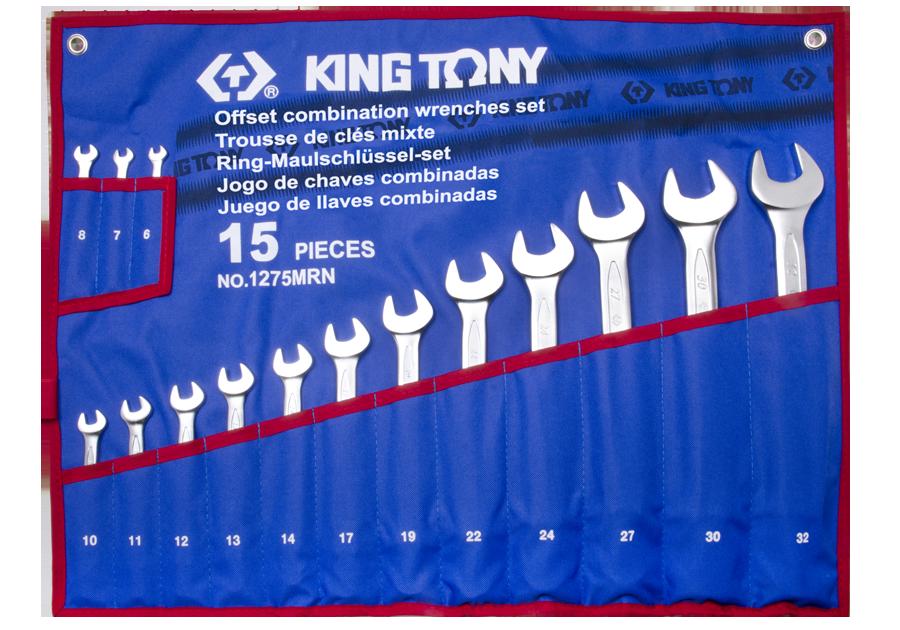 15件式 複合扳手組 | KING TONY | 1275MRN