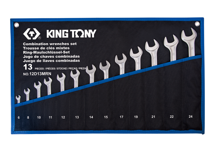 13 PC. Combination Wrench Set  KING TONY  12D13MRN