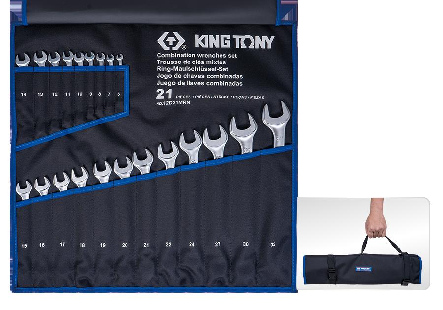 21件式 複合扳手組 | KING TONY | 12D21MRN