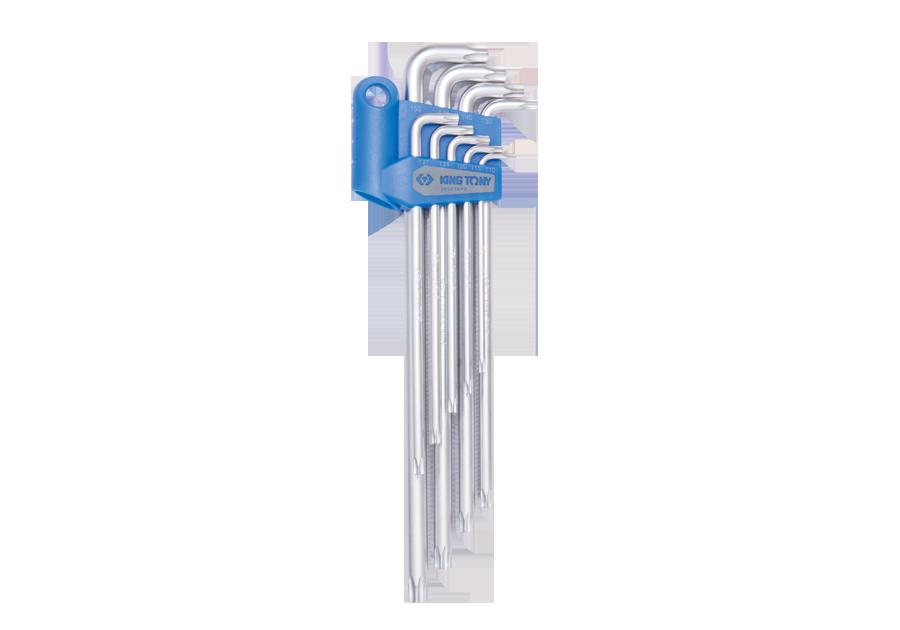 9件式 短邊六角星型扳手組  KING TONY  203A19PR, 永安實業工具購物網