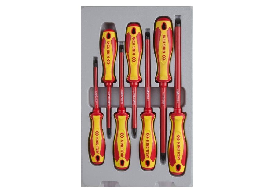 7件式 耐電壓起子組  KING TONY  30607MR, 永安實業工具購物網
