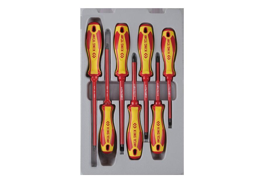 7件式 耐電壓起子組  KING TONY  30607MR02, 永安實業工具購物網