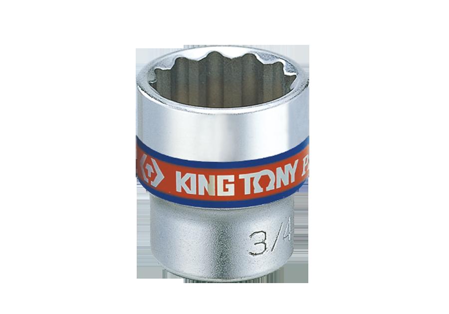"""3/8""""DR. 英制十二角標準套筒  KING TONY  3330S, 永安實業工具購物網"""