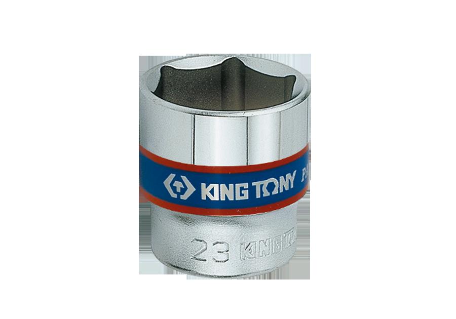 "3/8""DR. 公制六角標準套筒 | KING TONY | 3335M"