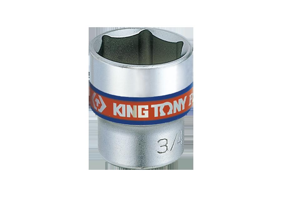 "3/8""DR. 英制六角標準套筒 | KING TONY | 3335S"
