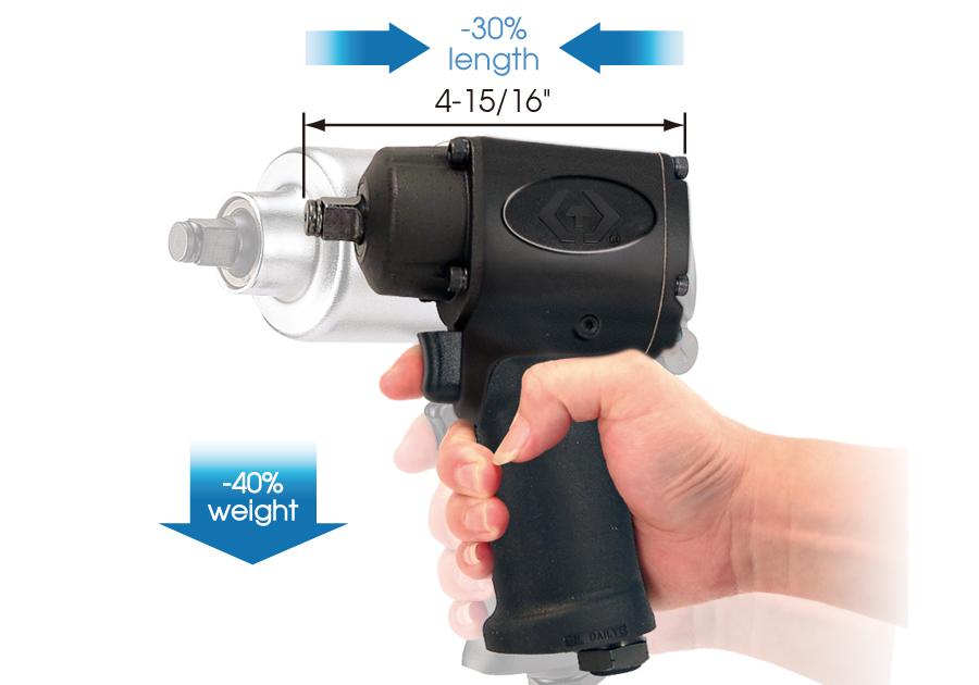 "1/2""DR. Air Impact Wrench-Super Mini Design"