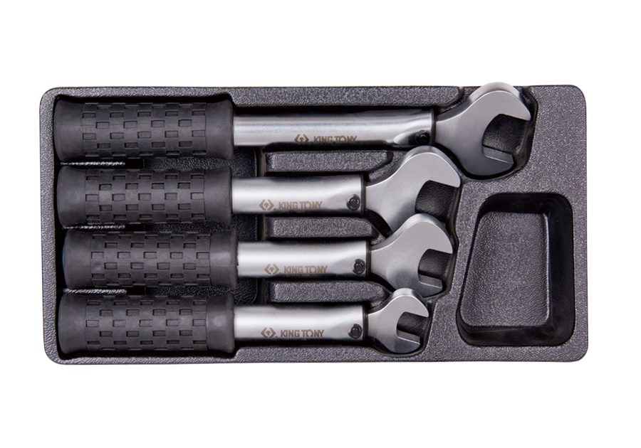 4件式 冷媒扭力扳手組  KING TONY  3411003MR01, 永安實業工具購物網