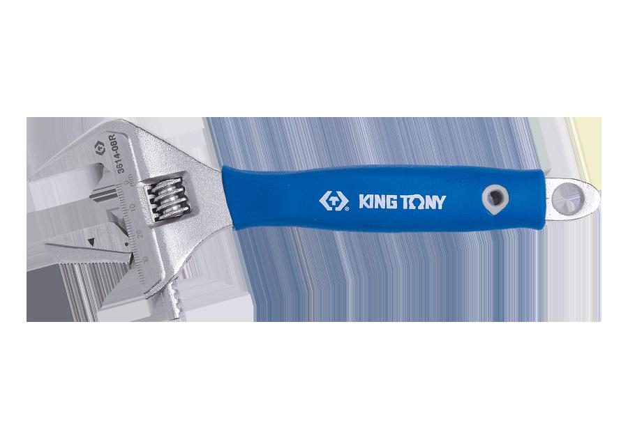 二合一大開口活動扳手  KING TONY  3614-08R, 永安實業工具購物網