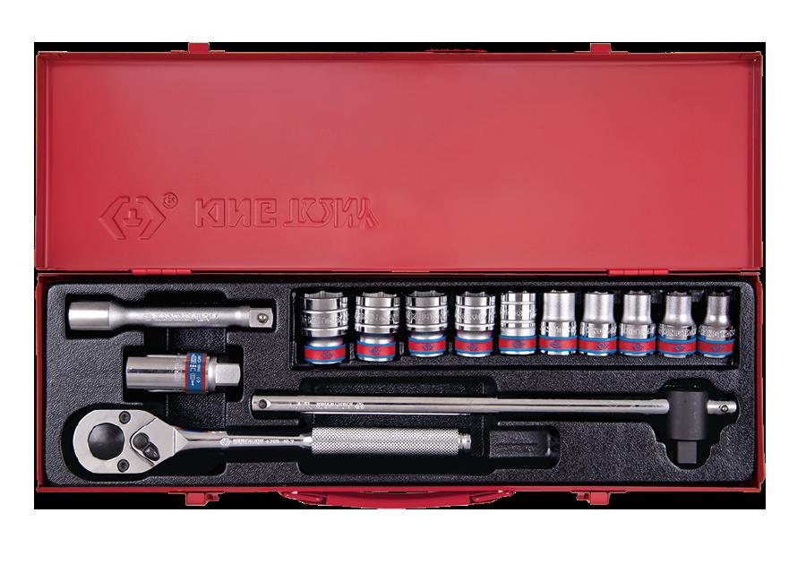 """14件式 1/2""""DR. 十二角套筒扳手組  KING TONY  4012SR, 永安實業工具購物網"""