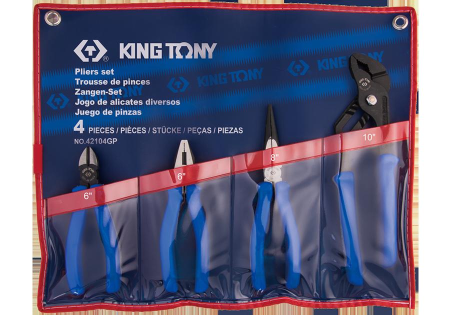 4件式 歐式鉗組 | KING TONY | 42104GP