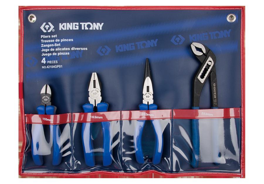 4件式 歐式鉗組 | KING TONY | 42104GP01