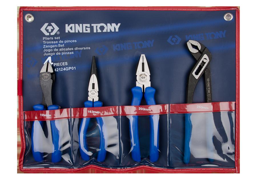 4件式 歐式鉗組 | KING TONY | 42124GP01