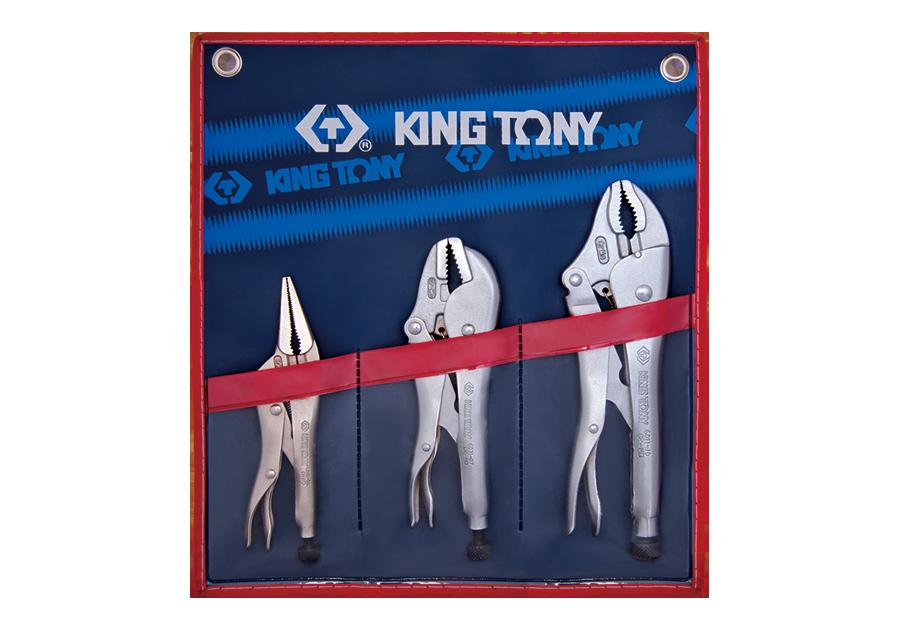3件式 萬能鉗組  KING TONY  42503PR, 永安實業工具購物網