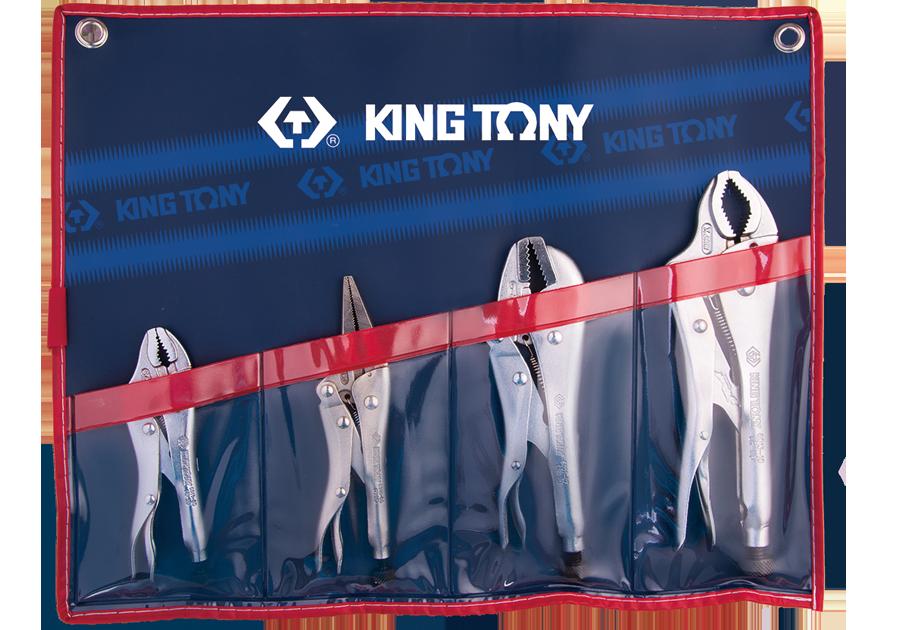 4件式 萬能鉗組  KING TONY  42504PR, 永安實業工具購物網