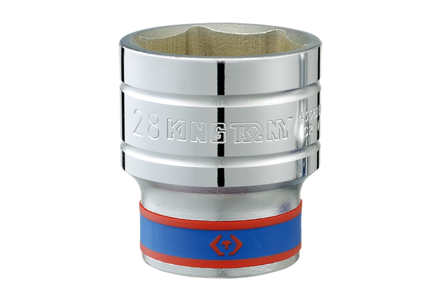 "1/2""DR. 6PT Metric Standard Socket  KING TONY  4335MR"