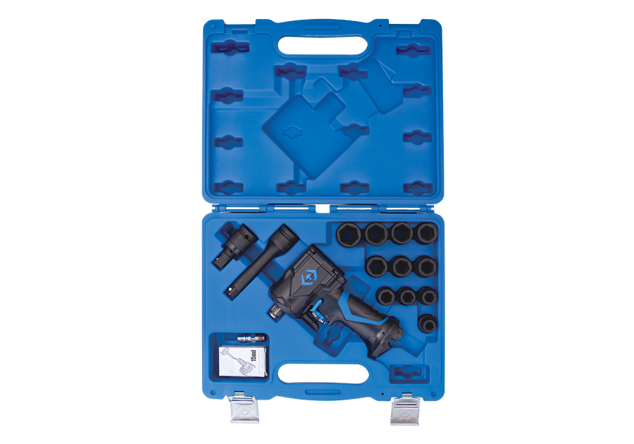 """16 件式 1/2""""DR. 迷你氣動扳手和套筒組  KING TONY  44802AMP, 永安實業工具購物網"""