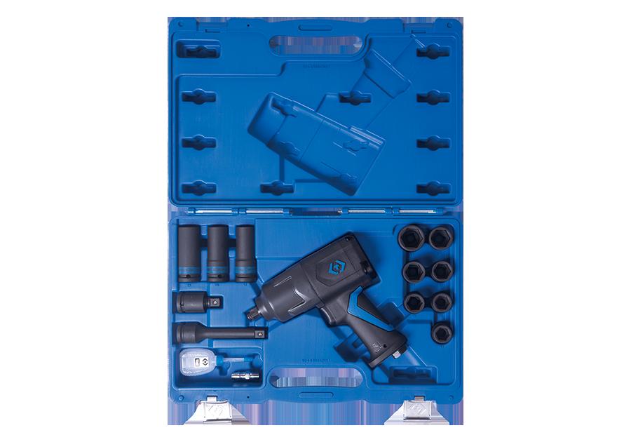 """15 件式 1/2""""DR.輕量化氣動扳手和套筒組  KING TONY  44803AMP, 永安實業工具購物網"""