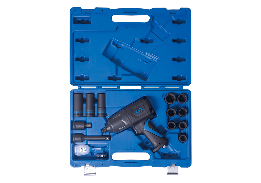 """15 件式 1/2""""DR.輕量化氣動扳手和套筒組  KING TONY  44803FMP, 永安實業工具購物網"""