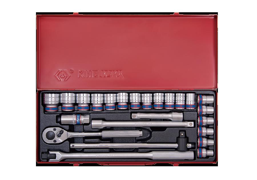 """24件式 1/2""""DR. 六角套筒扳手組  KING TONY  4526MR, 永安實業工具購物網"""