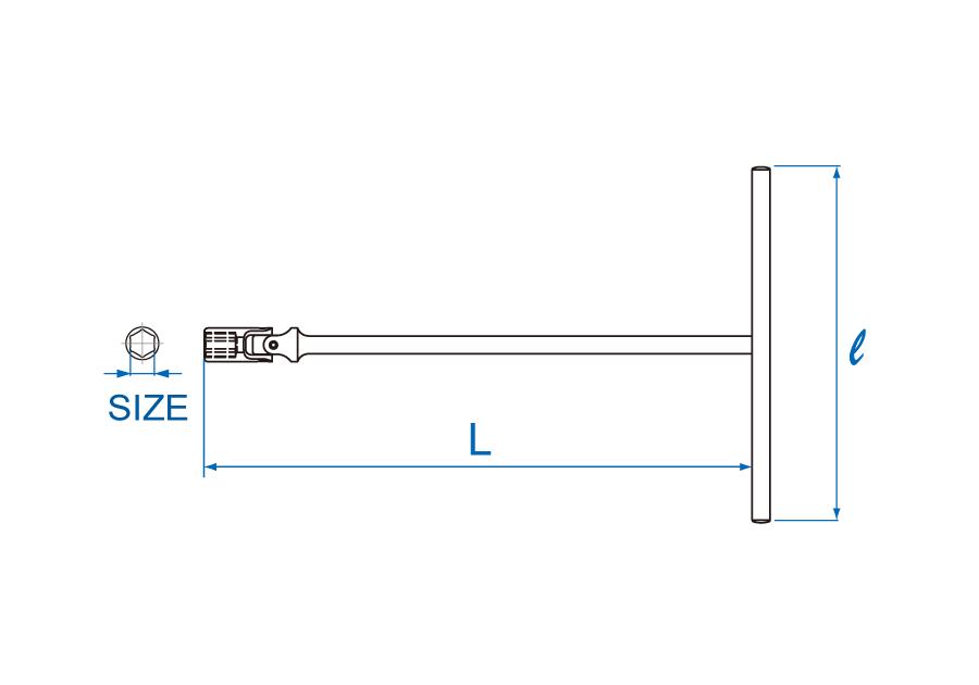 T型方頭萬向扳手  KING TONY  5772M, 永安實業工具購物網