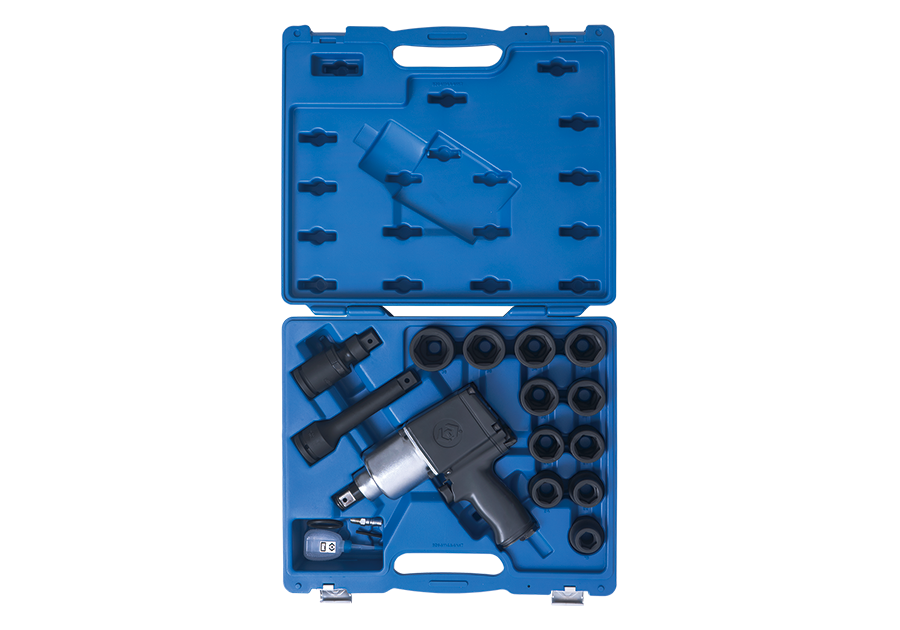 "18 PC. 3/4""DR. Impact Socket & Wrench Set  KING TONY  64114FMP"