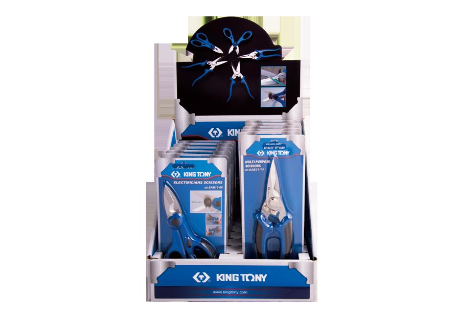 12件式 電工剪刀組  KING TONY  6AB0102, 永安實業工具購物網