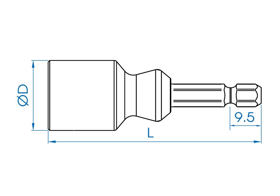 Threaded Rod Socket