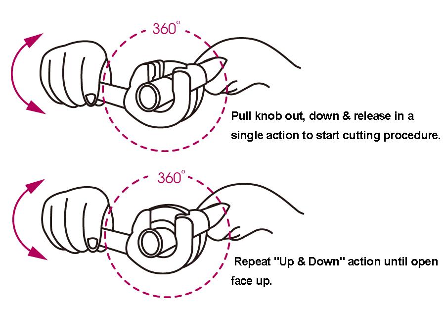 28~67mm Ratchet Tubing Cutter